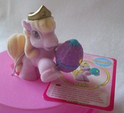 Filly World Filly Pferdchen Serie Prinzessin Jade mit Swarovski im lila Ei SELTEN