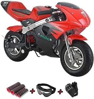 X-Pro 40cc Kids Pocket Bike Dirt Pitbike Mini 40cc Gas Power Bike Ride-on Bikes Ride-on Toys
