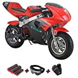 X-Pro 40cc Kids Pocket Bike Dirt Pitbike Mini 40cc Gas Bike Ride-on Bikes...