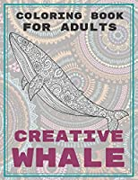 Creative Whale - Coloring Book for adults