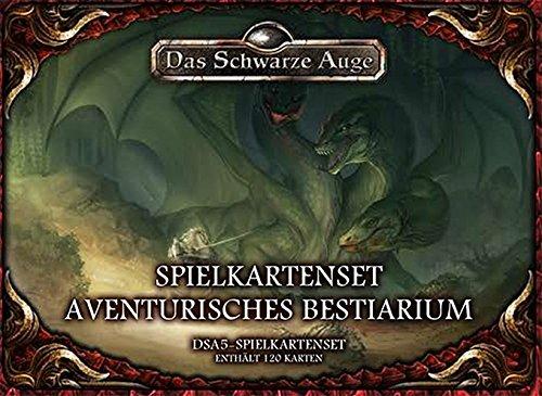 DSA5 Spielkartenset Aventurisches Bestiarium (Das Schwarze Auge: Regelwerke)