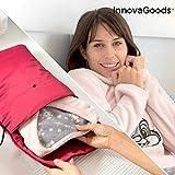 InnovaGoods Funda Térmica para Pijamas y Otras Prendas Cozyma 50W, Rojo, 30 x 40 x 2 cm