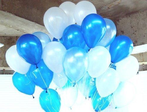DishyKooker Ballon, 25,4 cm, 1,5 g, Weiß, 1 Stück