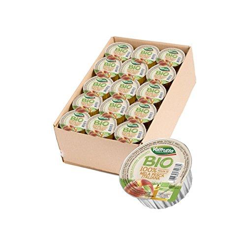 Valfrutta - Polpa di mela e pesca 60 pz