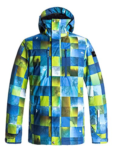 Quiksilver Mission - Snow Jacket for Men - Snow Jacke - Männer - L - Grün