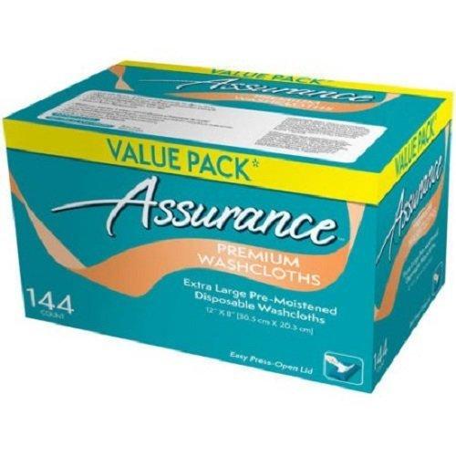 Assurance Premium Washcloths, Extra Large, 144 count