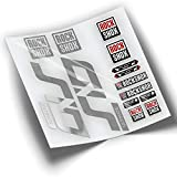 Pegatinas Horquilla ROCKSHOX SID 2020 WP287 Cromado Espejo