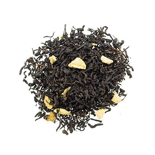 Aromas de Té - Pu Erh roter Tee Geschmack und Duft Abnehmen mit Zitrone und Zimt/Pu Erh Tee Verdauungs Zitrone und Zimt, 100 gr