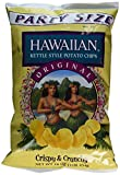 Hawaiian Kettle Style Potato Chips, Original, 16 Ounce