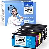 Mycartridge 5 cartucce compatibili con HP 953 XL 953XL (aggiornamento chip in novembre) per stampanti HP OfficeJet Pro 7720 7740 8710 8715 8720 All-in-One