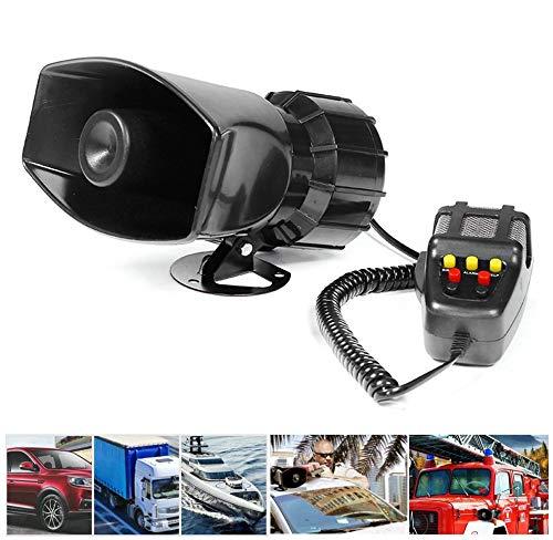 RLQ 100W 12V 7-Ton-Auto-LKW-Alarm Polizei Feuerlautsprecher Schallverstärker Megaphon-Megaphonlautsprecher Für Sirenen Öffnen Sie Den Weg Zur Brandbekämpfung Und Bestellen Sie Krankenwagen