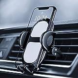 Eono by Amazon - Soporte Móvil Coche Rejillas del Aire, Universal Soporte Celular Ventilación, Accesorios para Coche, Rotación Flexible de 360 Grados, Compatible con iPhone Samsung Huawei