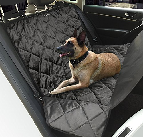 Funda de asiento de coche para perro Iwilcs, tela impermeable Oxford