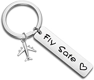 Keychains Stay Safe Babe I Need You Here With Me Couple Lovers Keychain Anniversary Gifts