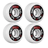Bones Wheels Street Tech Formula Skinny Bones Skateboard Wheels - 54mm 83b (Set of 4)