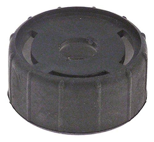 La-Spaziale Casquillo para máquina de café expreso, longitud 25 mm, diámetro 53 mm, color negro