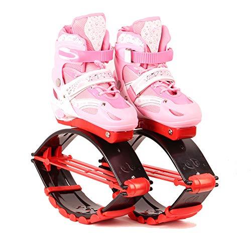 YXRPK Rebound Schuhe Jumps Kinder Springen Stelzen Fitness Übung Prellen Steigern Sie Den Stoffwechsel Verbrennen Fett Und Widerstehen Osteoporose,B