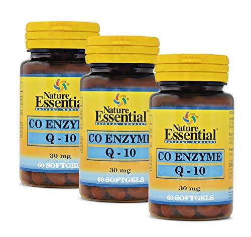 Coenzima Q-10 (30 mg.) 60 perlas (Pack 3 unid.)
