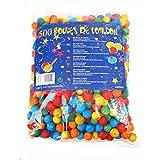 Rire et Confettis 6COT010 500 Boules Cotillons Coloris Assortis