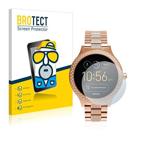 BROTECT 2X Entspiegelungs-Schutzfolie kompatibel mit Fossil Q Venture/Q Venture (3.Gen) Bildschirmschutz-Folie Matt, Anti-Reflex, Anti-Fingerprint