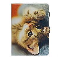 フリップタブレットプロテクトケース新しいApple Ipad Pro 11インチ2020 PUレザースマートスリープ/ウェイクビジネスアフェアススタンドカバー (子猫)