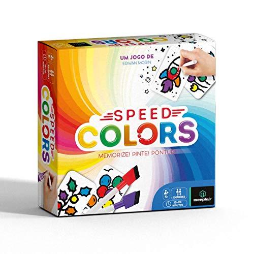 Jogo de Cartas Speed Colors, Meeple BR