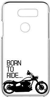 LG isai V30+ LGV35対応・V30+ L-01K対応・JOJO L-02K 対応 ハードケース スマホケース 透明カバー バイク・ブラック レトロ オートバイ エルジー イサイ ブイサーティープラス:ブイサーティープラス:ジョジョ...