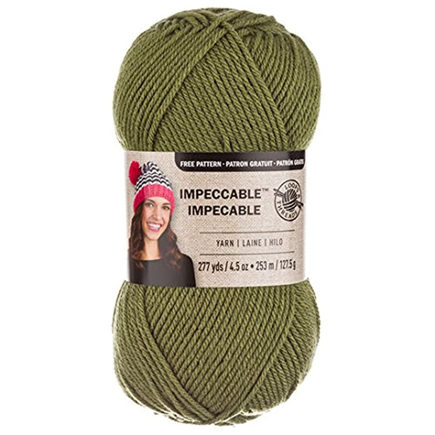 Loops & Threads Impeccable Yarn 4.5 oz. One Ball - Forest