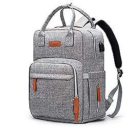 Image of Diaper Bag Backpack...: Bestviewsreviews