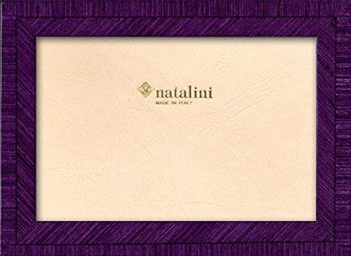 Natalini, BIANTE VIOLA 20X25, Cadre photo, Bois, Violet, Mesures exterieures 23 X 28 X 1,5