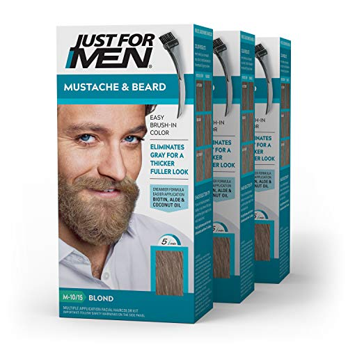 Just For Men Mustache & Beard, Beard Coloring for...