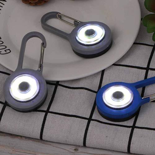 Uonlytech - Linterna de 4 Piezas con Forma de carabina para Pesca Nocturna, Color Mixto