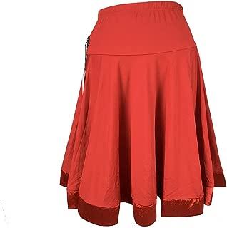 Reisam Women Latin Dance Dress Adult Latin Dance Practice Skirt Ballroom Dance Skirt Dance Clothing