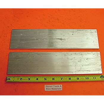 8 Pieces 5//8 X 5//8 ALUMINUM 6061 SQUARE FLAT BAR 12 long T6511 New Mill Stock