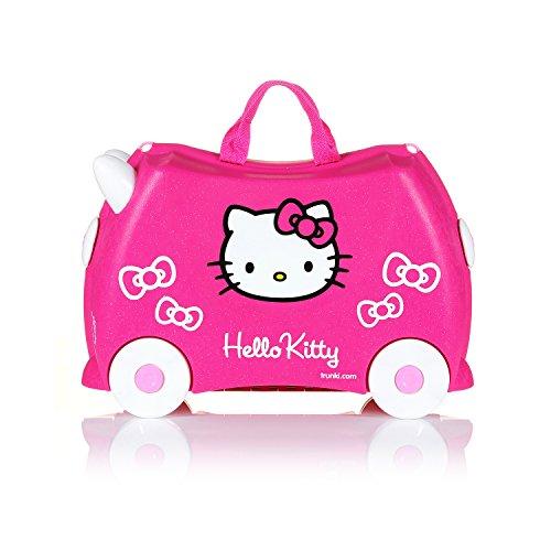 Trunki Trolley Kinderkoffer, Handgepäck für Kinder: Hello Kitty (Rosa) - 6