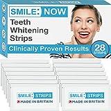 Strisce sbiancanti denti - Senza perossido - Senza fluoro - Sbiancamento dentale e pulizia...
