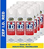 Zep I.D. Red II Solvent Degreaser 1049787 Aerosol (Case of 12) Fast Dry