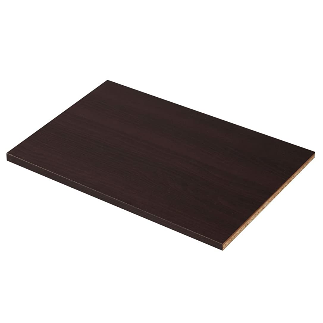感染する感染するミントぼん家具 棚板 追加棚板 棚板のみ 収納ラック コミック収納 多目的ラック 収納 棚 たな 書棚 〔1枚〕 ダークブラウン