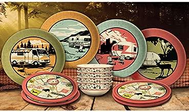 Camp Casual (CC-001) 12-Piece Dish Set