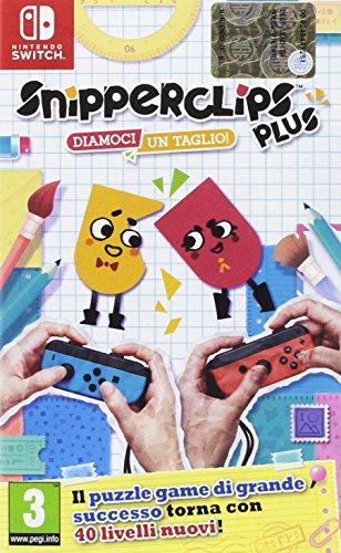 Nintendo Switch Snipperclips Plus: Diamoci un taglio!
