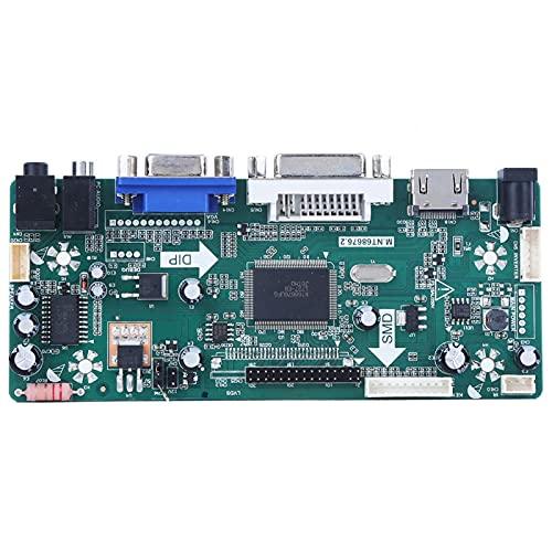 HDMI VGA DVI Modelo de configuración LCD Driver Board Controller Module Audio LCD Controller Board para 15.6 'LP156WH2 TL B156XW02