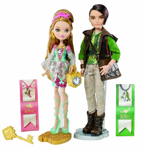 Ever After High - BFX05 - Poupée - Coffret Duo Ashlynn Ella et Hunter Huntsman