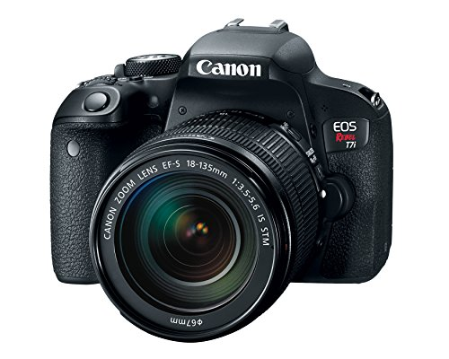 Canon EOS REBEL T7i EF-S DSLR Camera with 18-135mm