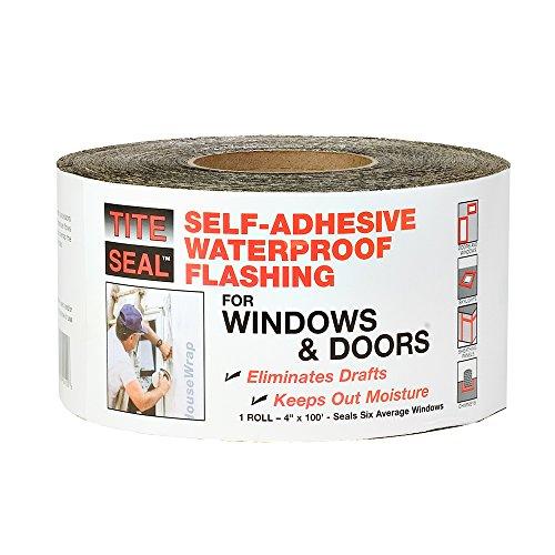 "Cofair TS4100 Tite Seal Original Window Tape 4"" x 100', 1, Wood"