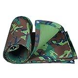HR - Lona de camuflaje militar gruesa impermeable para tienda de campaña de protección solar