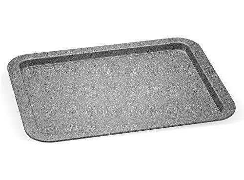 Aeternum Bakeware Petravera Teglia Rettangolare, Aluminium,Grigio, 38 x 27 x 2 cm
