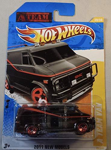 Hot Wheels 2011 A Team Van Black #39/244