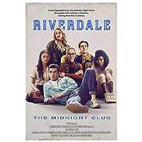 Ipea Riverdaleシーズン3Tvシリーズショー2019キャラクターペインティングポスターとプリントキャンバスウォールアート写真ホームルームの装飾-50X70Cmフレームなし