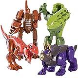 Krisvie Dinosaurios Juguete Robot, Juego Creativo y DIY Juguetes para niños de 6 a 12 años