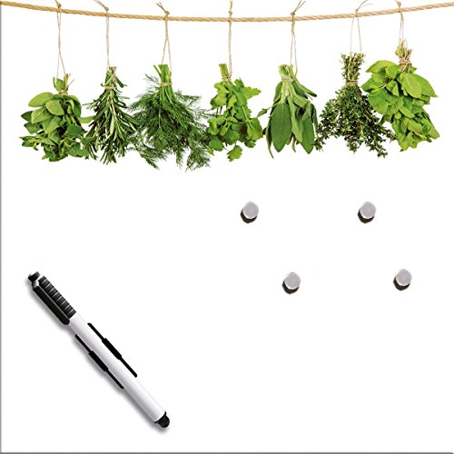 Eurographics Magnettafel, MB-DT6427 Hanging Herbs